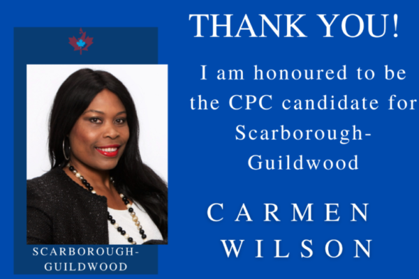 Carmen Thank you card
